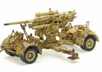 Artilharia German 88MM Flak 18 Anti-Tank + 08 Soldados (Africa 1942) 1:32 Forces of Valor