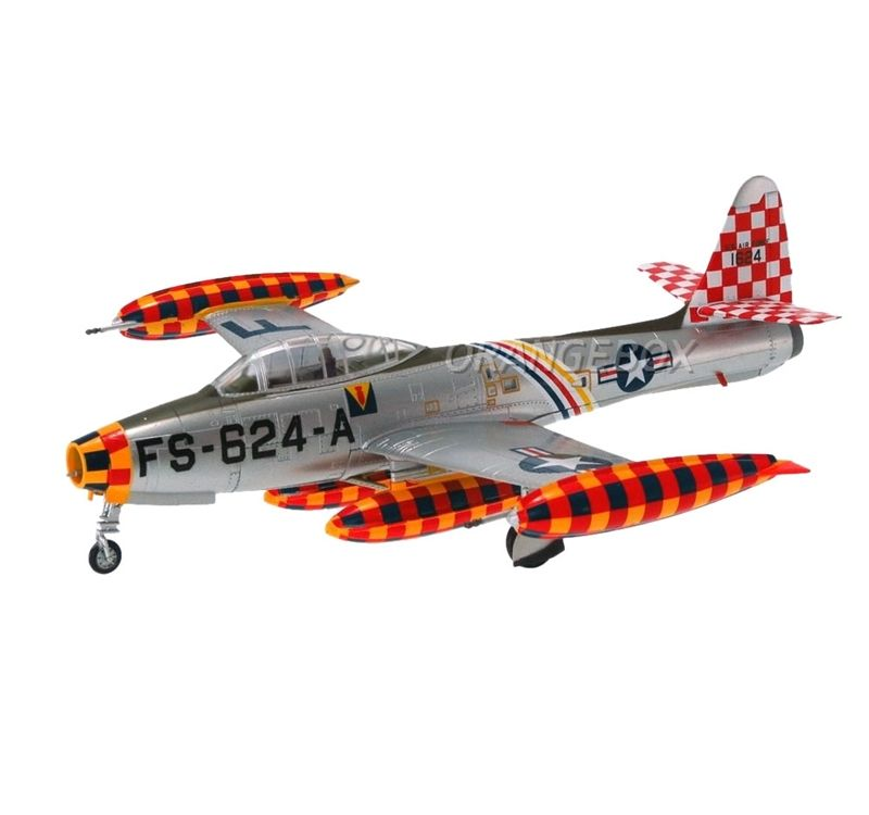 Avião F-84E-30 Thunderjet Germany 1951 Easy Model 1:72