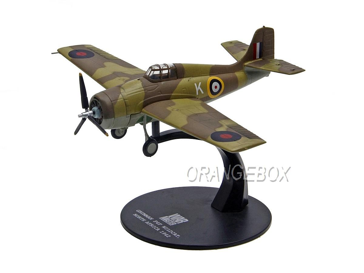 Avião Grumann F4F Wildcat Operation Torch North Africa 1942 Solido War Master 1:72