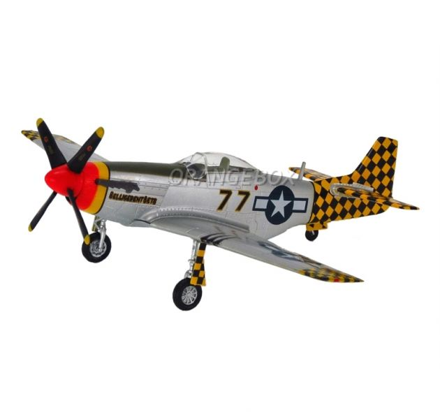 Avião P-51D Mustang IV Easy Model 1:72
