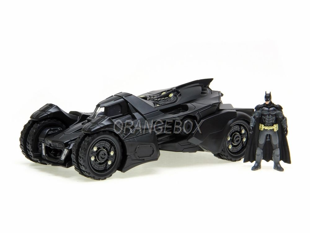 Batman Arkham Knight Batmobile   Figura Batman (em metal) Jada Toys 1:24