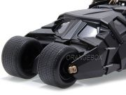 Batmóvel Tumbler  + Figura Batman (em metal) - The Dark Knight 2008 Jada Toys 1:24