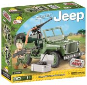 Blocos para Montar Jeep Willys MB Cobi