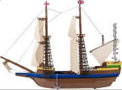 Blocos para Montar Navio Pilgrim Ship Mayflower Cobi