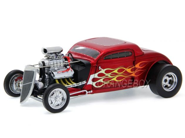 Blown Altered Nitro Coupe 1934 Gmp 1:18