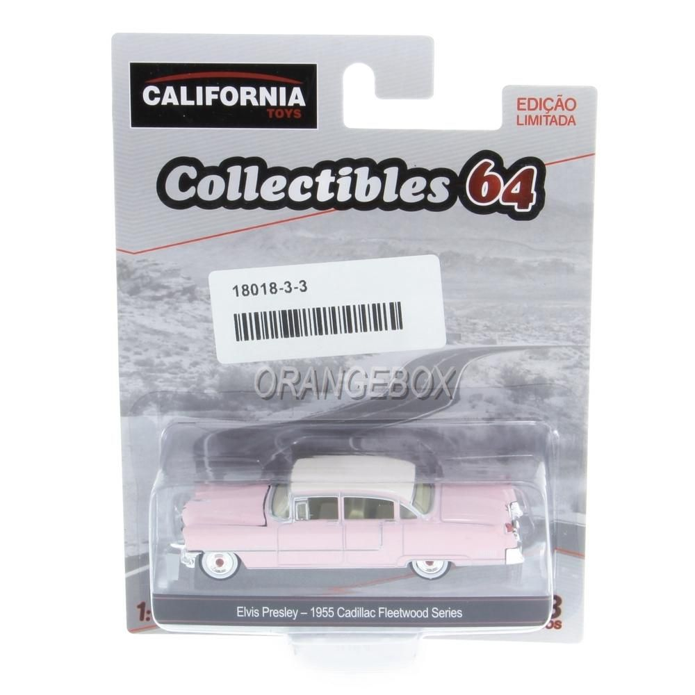 Cadillac Fleetwood 1955 Series Elvis Presley California Collectibles Série 3 Greenlight 1:64