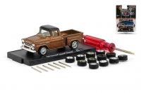 Chevrolet Apache Stepside 1958 R07 Auto Wheels M2 Machines 1:64