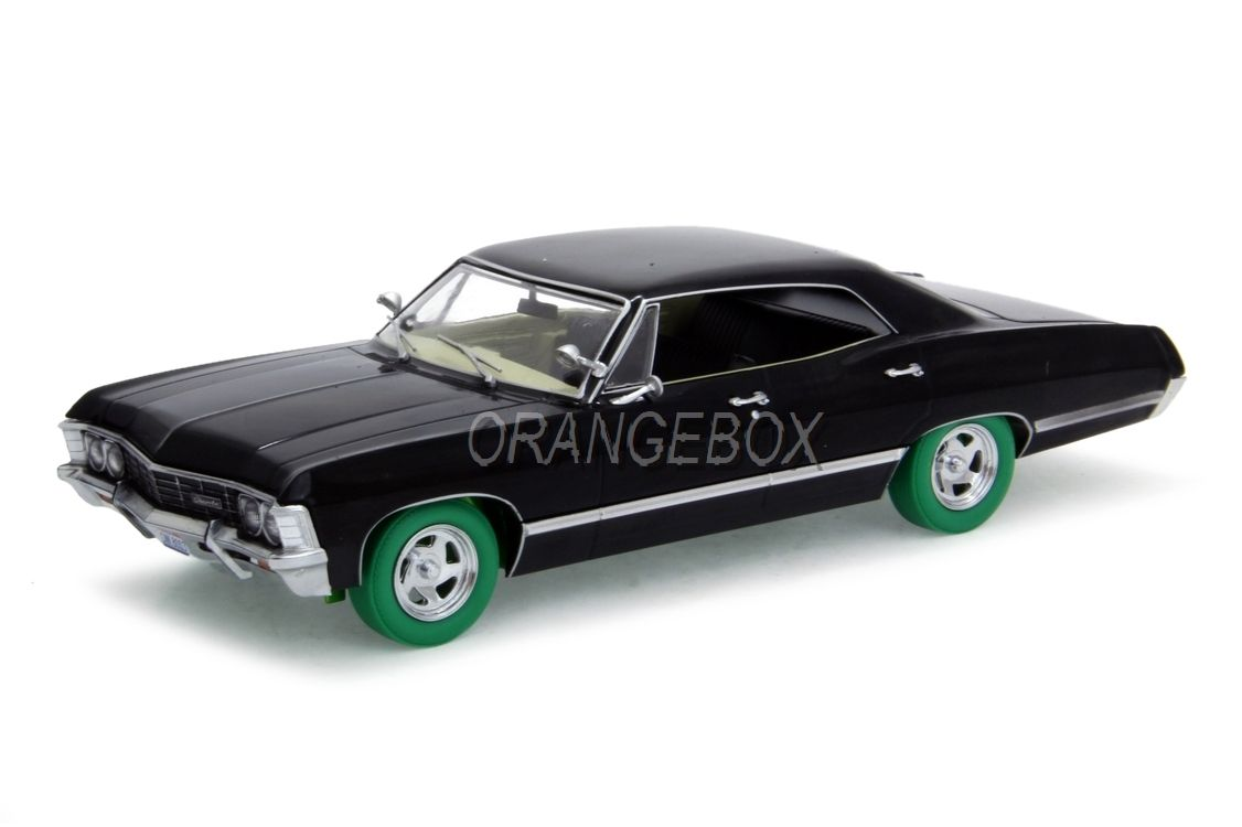 Chevrolet Impala Sport Sedan 1967 Supernatural 1:24 Greenlight (Chase Car)