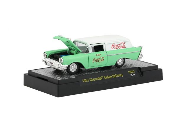 Chevrolet Sedan Delivery 1957 GG01 Coca-Cola M2 Machines 1:64