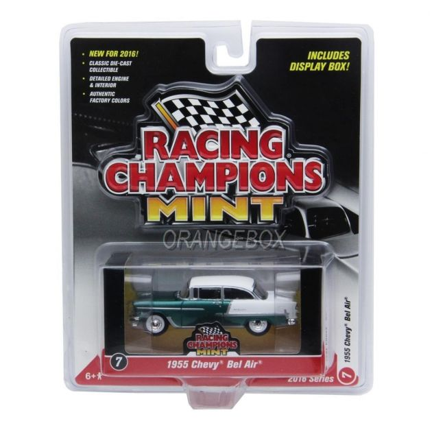 Chevy Bel Air 1957 - Release 2 Set A Racing Champions Mint 1:64