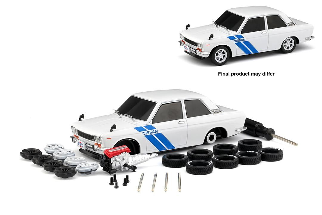 Datsun 510 1970 R07 Model Kit M2 Machines 1:24
