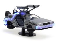 Delorean Back to The Future II Time Machine Jada Toys 1:24 (com luzes)