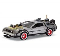 Delorean Time Machine Back to the Future III  Welly 1:24