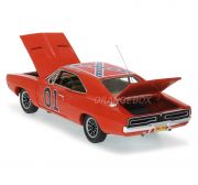 Dodge Charger General Lee 1969 Os Gatões 1:18 Ertl Authentics 1:18