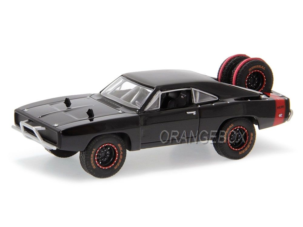 Dodge Charger R/T 1970 Off Road Velozes e Furiosos 7 Greenlight 1:43