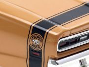 Dodge Coronet Super Bee Hardtop 1969/5 Class of 1969 1:18 Autoworld (com teto preto)