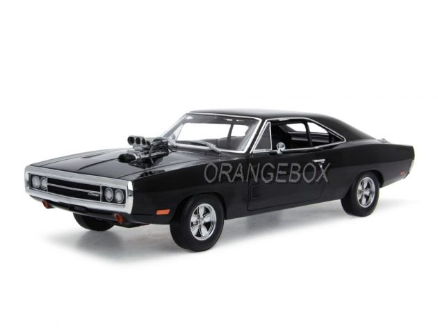 Dom's Dodge Charger 1970 Velozes e Furiosos Greenlight 1:18