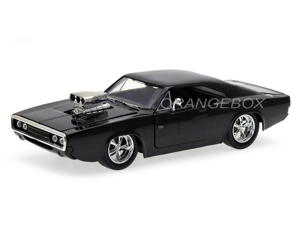 Dom's Dodge Charger R/T 1970 Fast and Furious Velozes e Furiosos Jada Toys 1:24