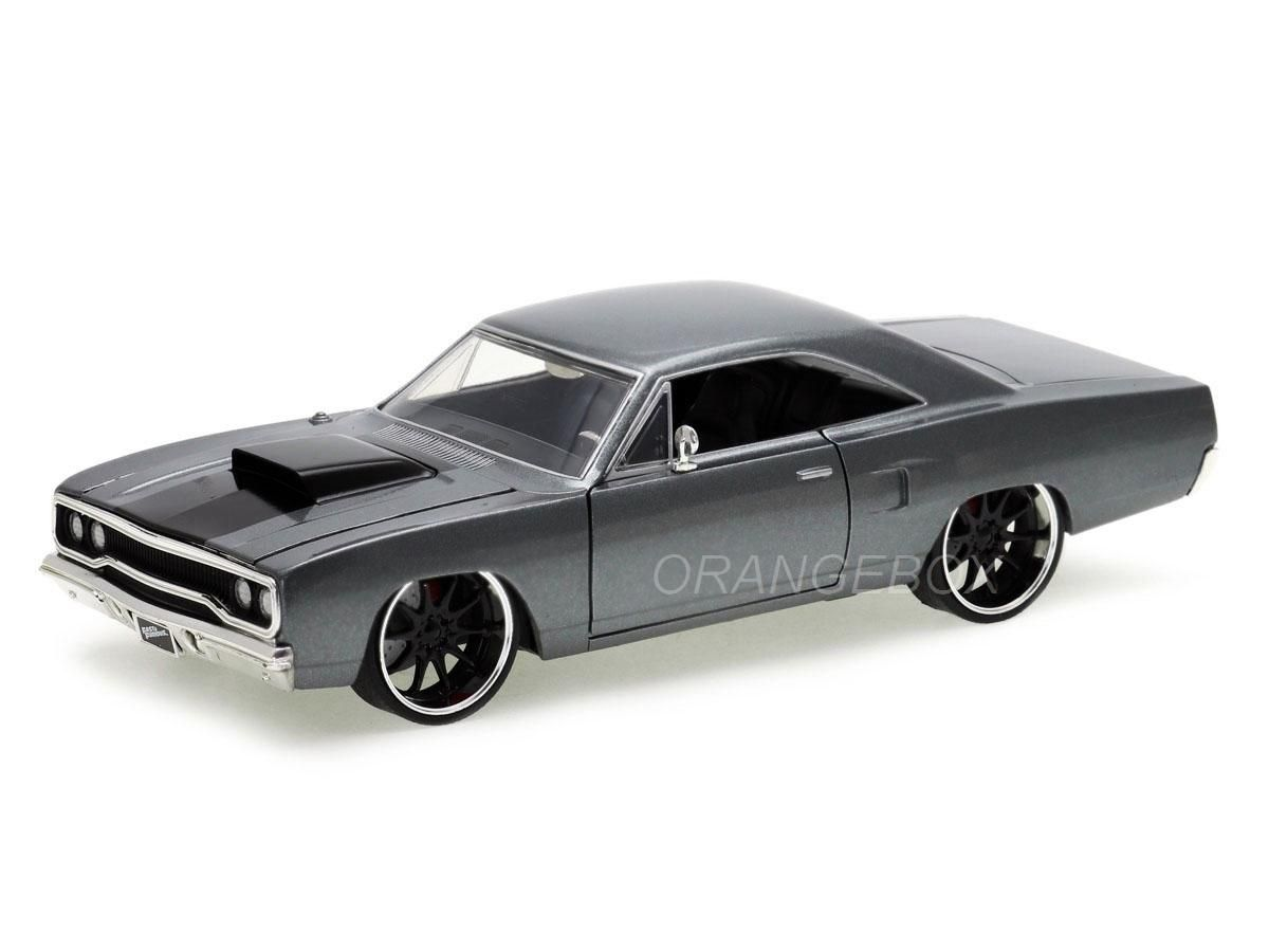 Dom's Plymouth Road Runner Velozes e Furiosos Fast and Furious Jada Toys 1:24