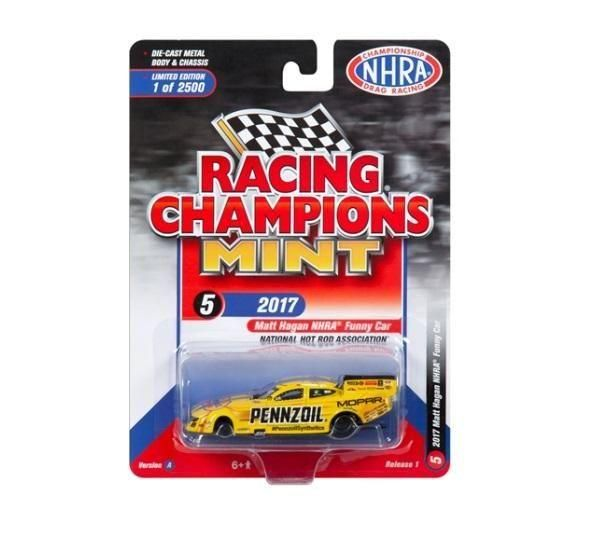 Dragster Funny Car - 2018 Release 1 Set A Racing Champions Mint 1:64
