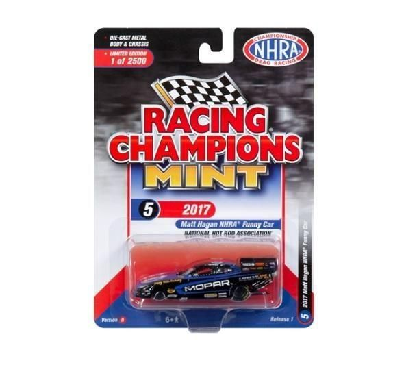 Dragster Funny Car -  2018 Release 1 Set B Racing Champions Mint 1:64