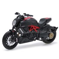 Ducati Diavel Carbon 2 Wheelers Maisto 1:18 Preto