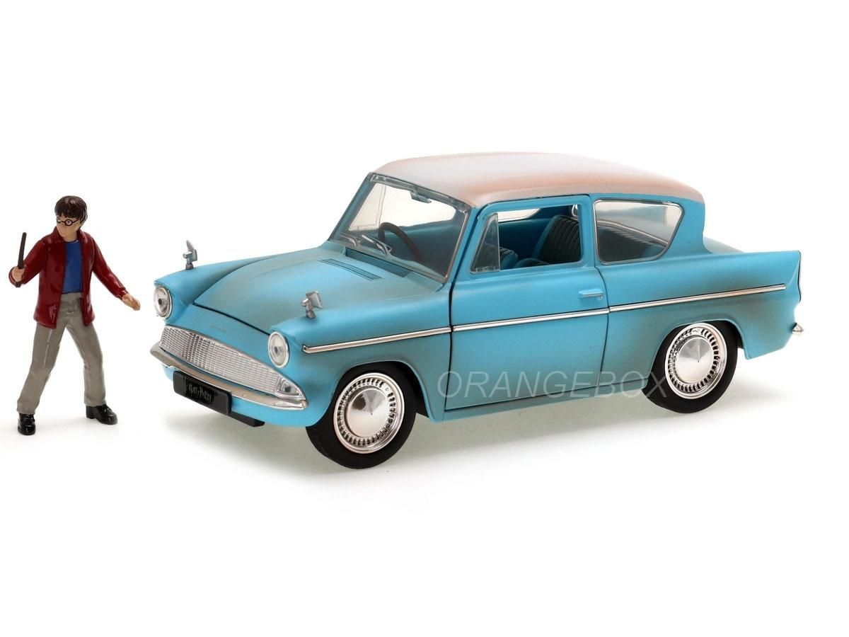 Ford Anglia 1959 Jada Toys 1:24 + Figura Harry Potter