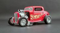 Ford Blown 3 Window Hot Rod Flamethrower 1:18 Acme