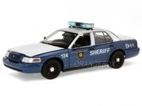 Ford Crown Victoria The Walking Dead 2001 1:18 Greenlight