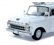 Ford F-100 1965 Good Humor Ice Cream Truck Sunstar 1:18 Branco