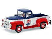 Ford F-100 Pick-Up 1956 Pepsi Cola Autoworld 1:18