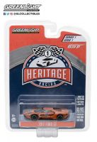 Ford GT 2017 #3 Tribute to Ford GT40 MK II 1967 #3 Greenlight Heritage Series 1:64 Marrom