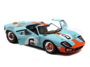 Ford GT40 MK1 #6 24H Le Mans 1969 1:18 Solido Gulf