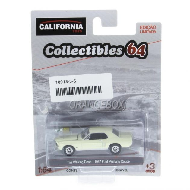 Ford Mustang 1967 Coupe The Walking Dead California Collectibles Série 3 Greenlight 1:64