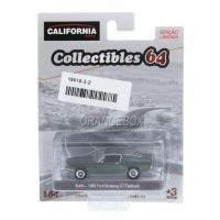 Ford Mustang GT Fastback 1968 Bullit California Collectibles Série 3 Greenlight 1:64