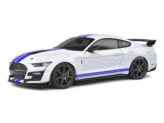 Ford Mustang GT500 Fast Track 2020 1:18 Solido Branco