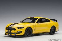 Ford Mustang Shelby GT350R 1:18 Autoart Amarelo