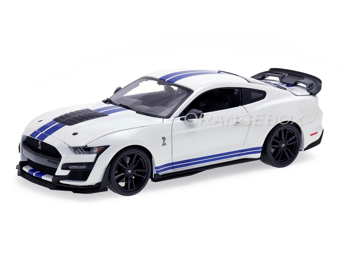 Ford Mustang Shelby GT500 1:18 Maisto Branco