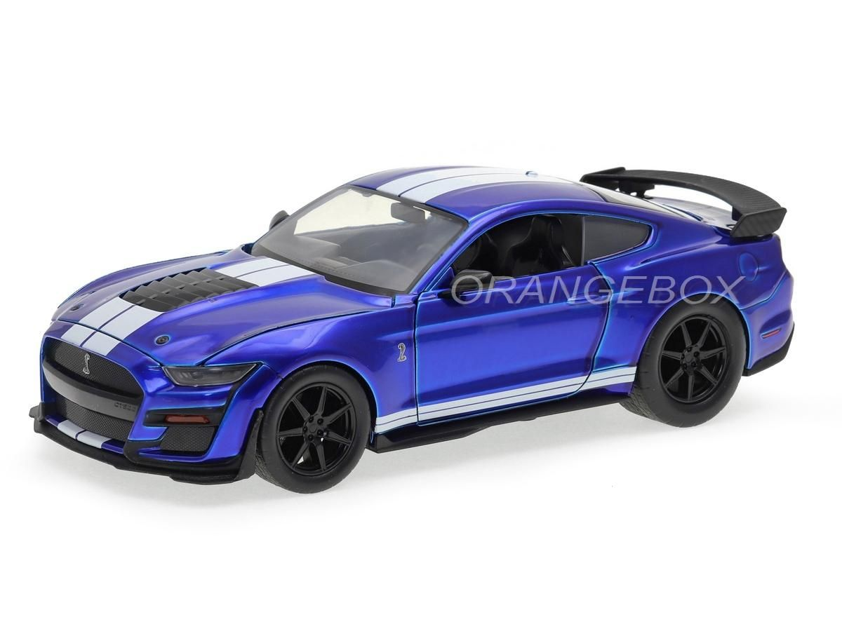 Ford Mustang Shelby GT500 2020  1:24 Jada Toys Azul