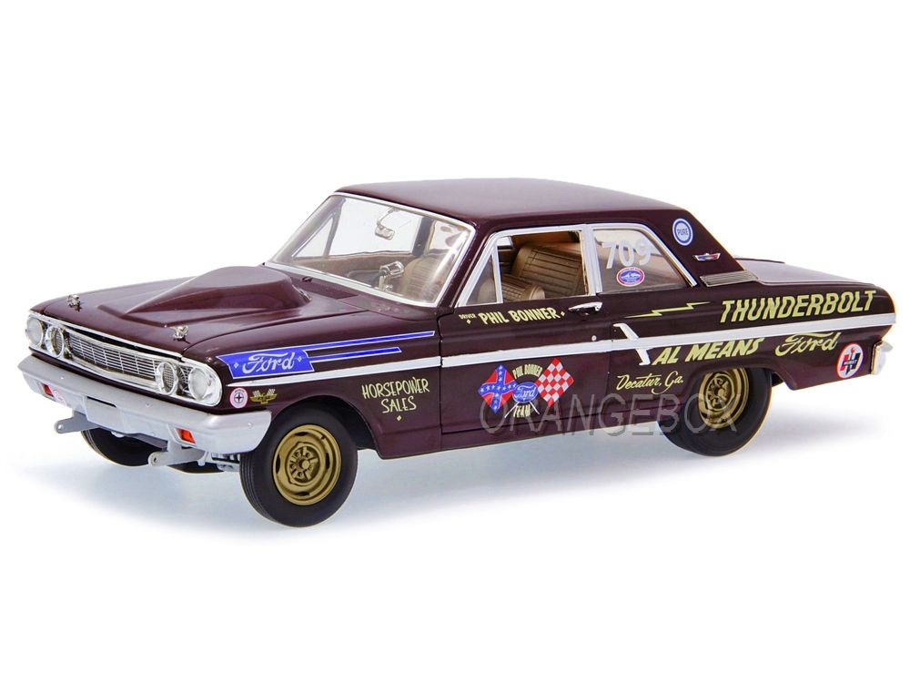 Ford Thunderbolt 1964 Phil Bonner Autoworld 1:18