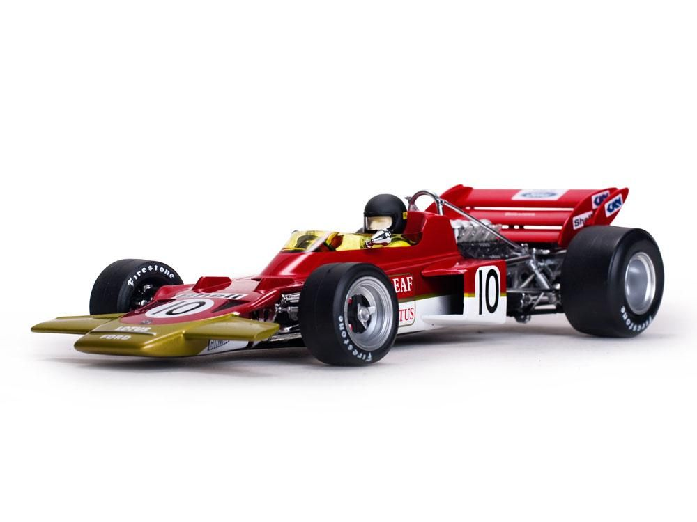 Fórmula 1 Lotus 72C Jochen Rindt 1970 Dutch Grand Prix Winner 1:18 Quartzo