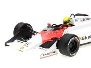 Fórmula 1 McLaren MP4/3 Ayrton Senna Test Car 1987 1:18 Minichamps