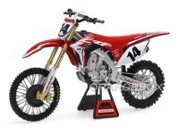 Honda CRF 450R Team Honda HRC #14 Cole Seely New Ray 1:6