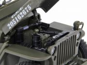 Jeep Willys 1/4 Ton Army Truck 1:18 Welly (c/ capota)