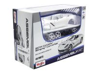 Kit Montar Corvette Stingray Convertible 2014 1:24 Maisto Branco