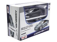 Kit Montar Corvette Stingray Coupe 2014 1:24 Maisto Cinza