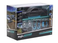 Kit Montar Ford Mustang GT 2015 1:24 Maisto Preto