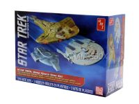 Kit para montar  Star Trek Cadet Series Deep Space 9 (3 Kits) Amt 1:2500