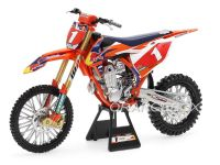 KTM 450 SX-F #1 Ryan Dungey Red Bull Factory Racing Championship Edition New Ray 1:6