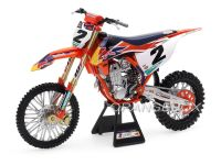 KTM 450 SX-F Red Bull Factory Racing #2 Cooper Webb Supercross New Ray 1:6